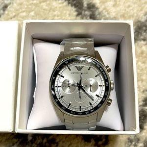 Emporio Armani #AR6095 Stainless Steel Waist Watch